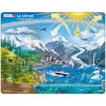 Larsen-NB1-FR Puzzle Cadre - Le Climat et l'Effet de Serre