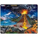 Larsen-NB2-FR Puzzle Cadre - Volcans