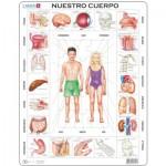 Larsen-OB1-ES Puzzle Cadre - Nuestro Cuerpo (en Espagnol)