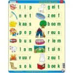 Larsen-SC11-NL Puzzle Cadre - Apprendre à lire le Néerlandais 5