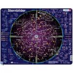 Larsen-SS2-DE Puzzle Cadre - Carte des Constellations (en Allemand)
