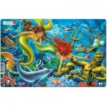 Larsen-U15-2 Puzzle Cadre - Les Sirènes