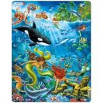 Larsen-US20 Puzzle Cadre - Les Sirènes
