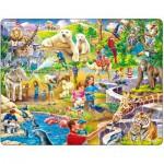 Larsen-US30 Puzzle Cadre - Au Zoo