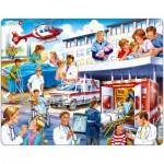 Larsen-US33 Puzzle Cadre - Hôpital et Secours