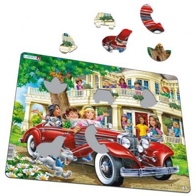 Larsen-US35 Puzzle Cadre - Les Filles au Cabriolet