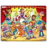 Larsen-US42 Puzzle Cadre - Kids Band