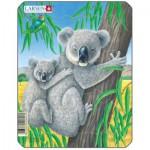 Larsen-V4-4 Puzzle Cadre - Koalas