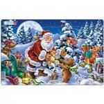 Larsen-XC1-1 Puzzle Cadre - Le Noël des Nounours