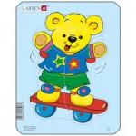 Larsen-Y1-2 Puzzle Cadre - Teddy bears