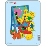 Larsen-Y1-3 Puzzle Cadre - Teddy bears
