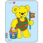 Larsen-Y1-4 Puzzle Cadre - Teddy bears