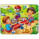 Larsen-Z10-1 Puzzle Cadre - Jeux d'enfants