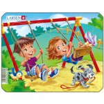 Larsen-Z10-2 Puzzle Cadre - Jeux d'enfants