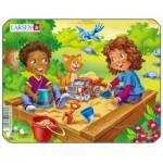 Larsen-Z10-3 Puzzle Cadre - Jeux d'enfants