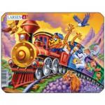 Larsen-Z7-1 Puzzle Cadre - Train