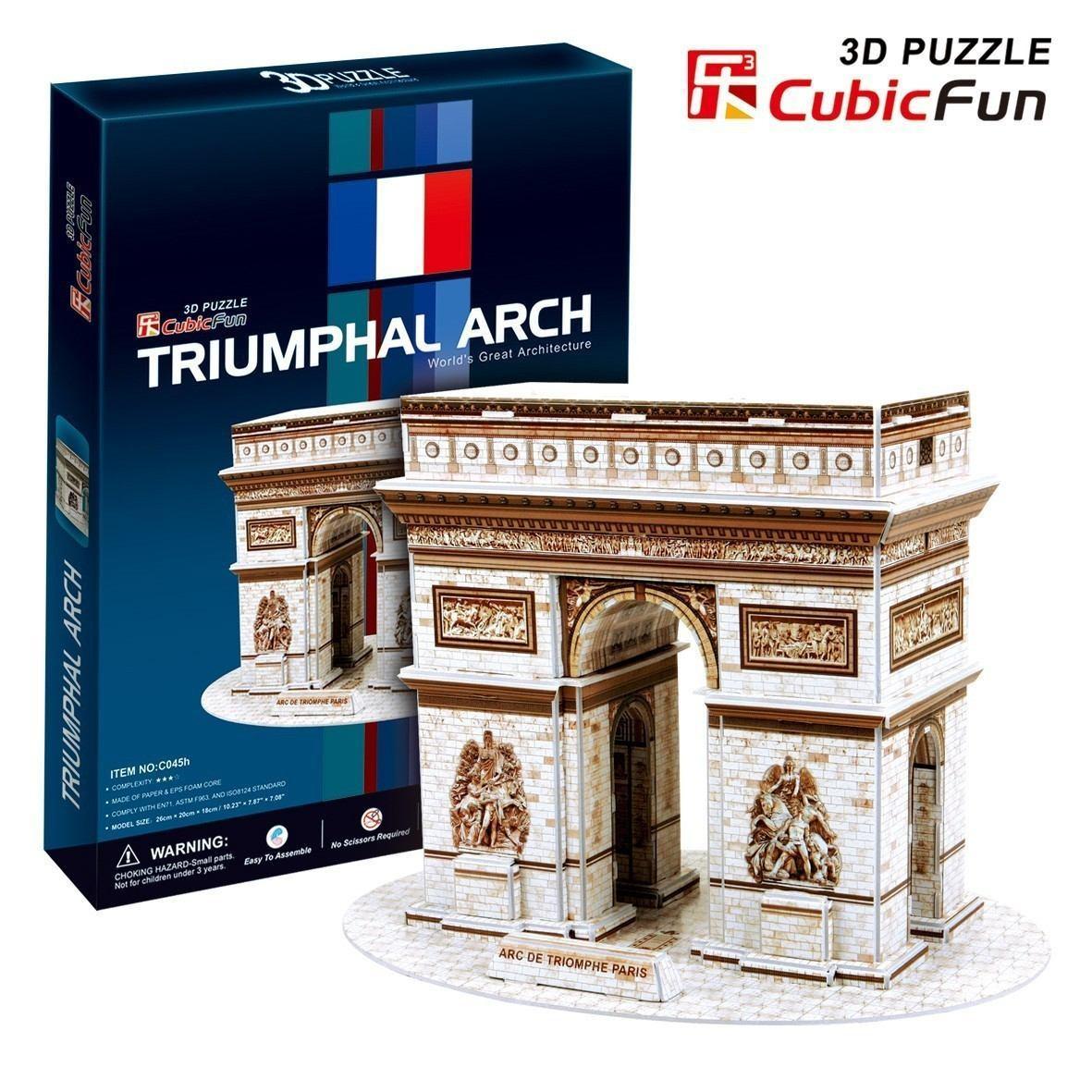 puzzle-3d-arc-de-triomphe