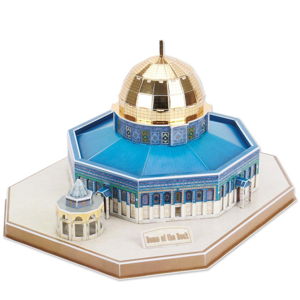 puzzle-3d-israel-jerusalem-dome-du-rocher