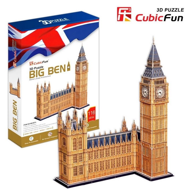 puzzle-3d-londres-big-ben-difficulte-7-8-