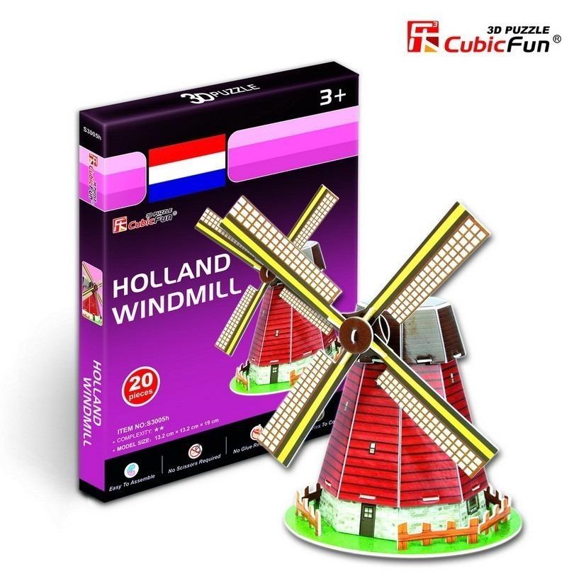 puzzle-3d-serie-mini-moulin-des-pays-bas-difficulte-2-8-