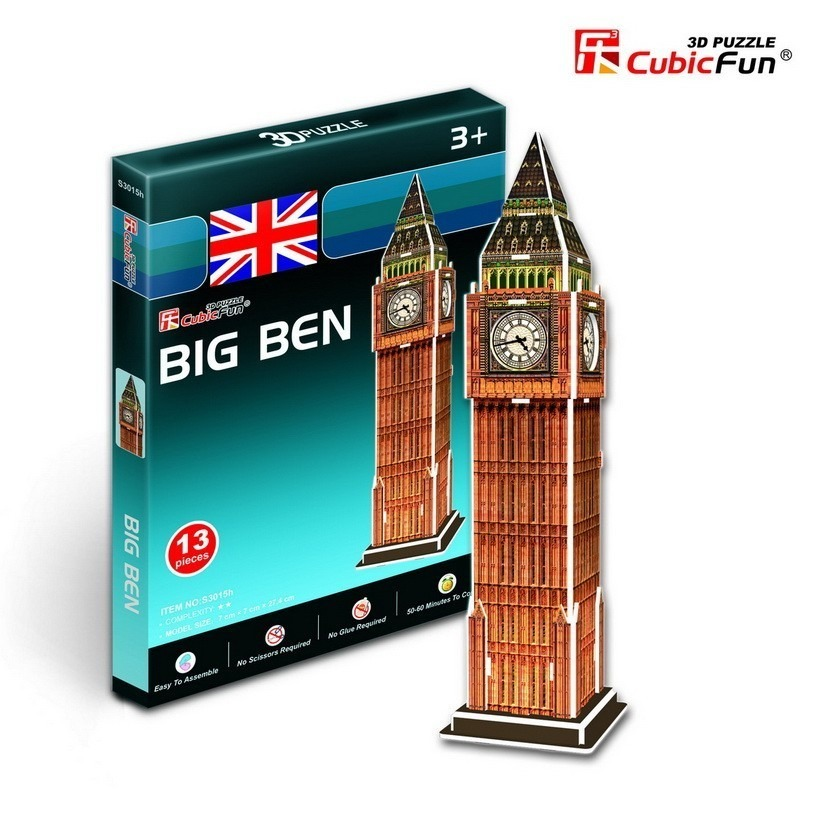 puzzle-3d-serie-mini-royaume-uni-londres-big-ben-difficulte-2-8-