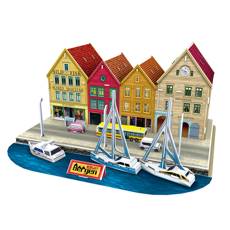 puzzle-3d-bergen-norway-difficulte-4-8