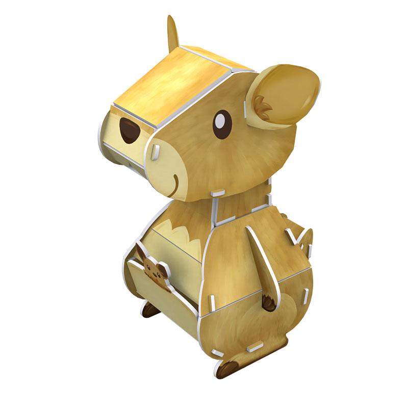 puzzle-3d-kangourou-difficulte-3-8