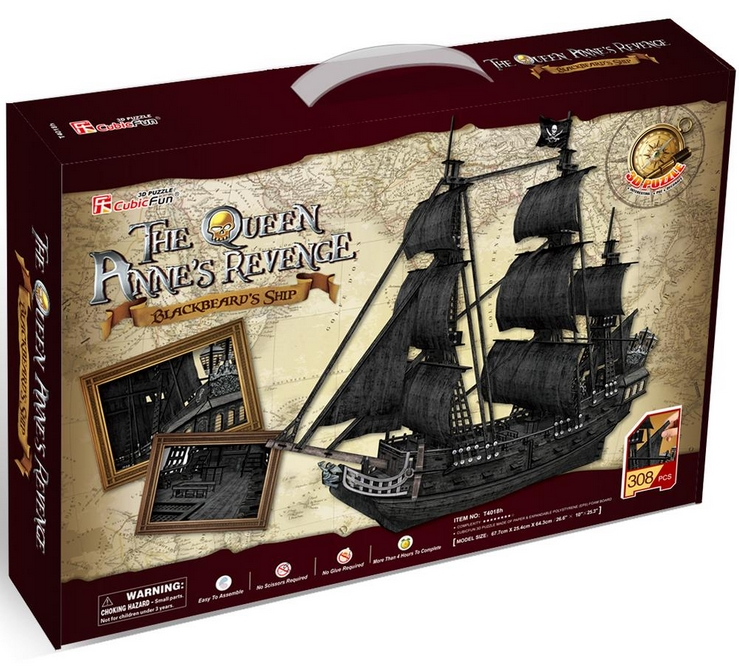 puzzle-3d-the-queen-anne-s-revenge-difficulte-8-8