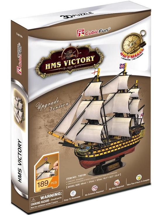puzzle-3d-hms-victory-difficulte-5-8