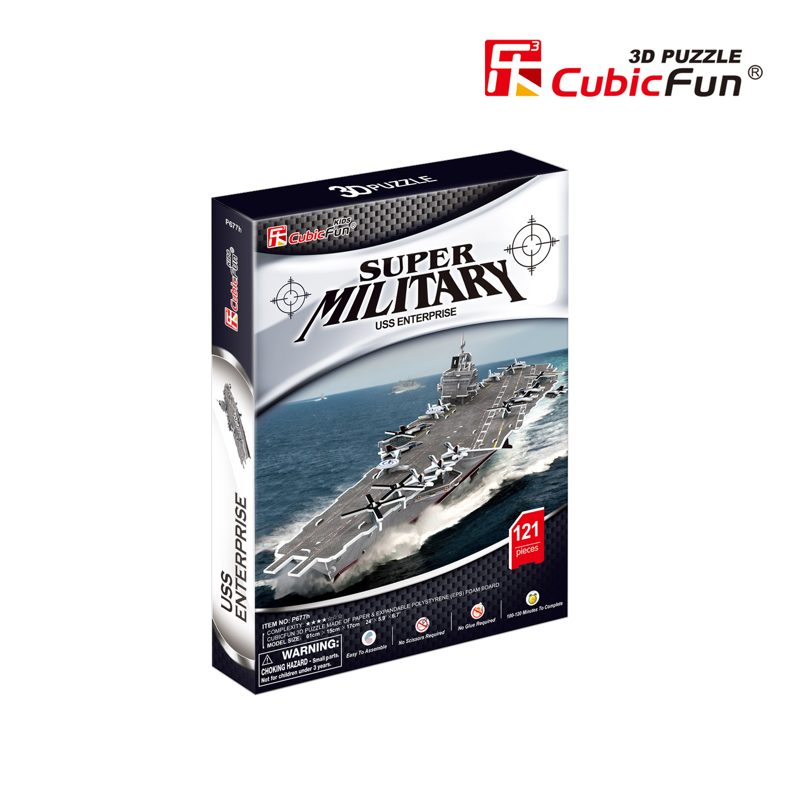 puzzle-3d-uss-enterprise-difficulte-4-8-