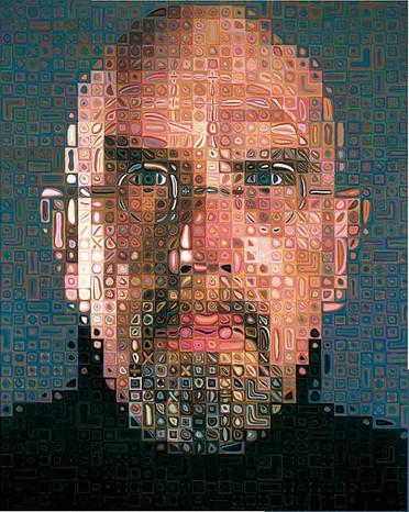 Chuck Close : Autoportrait