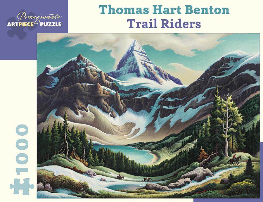 thomas-hart-benton-trail-riders-1964-1965