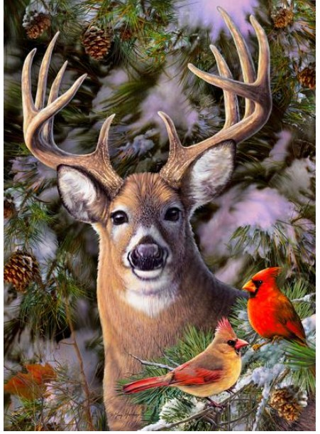 pieces-xxl-one-deer-two-cardinals