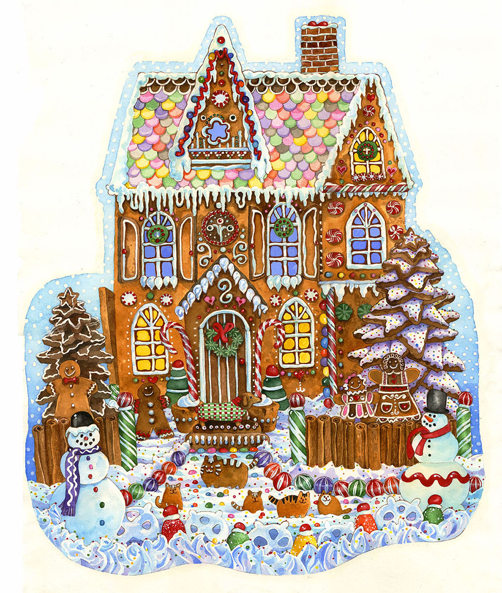wendy-edelson-gingerbread-house, 15.26 EUR @ go