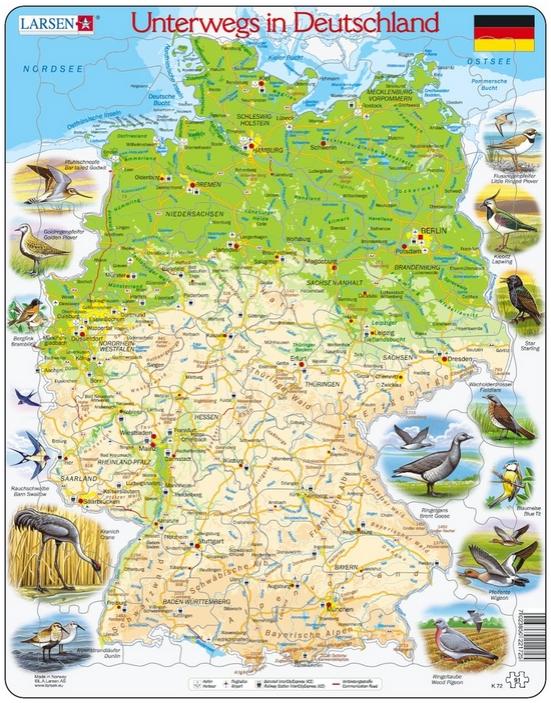 puzzle-cadre-voyage-en-allemagne-en-allemand-