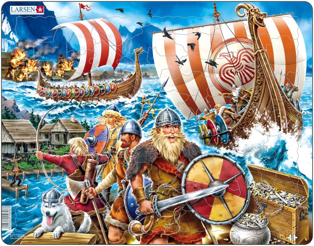 puzzle-cadre-attaque-de-vikings