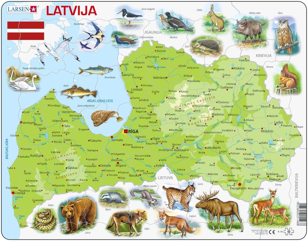 puzzle-cadre-carte-de-la-lettonie-en-letton-