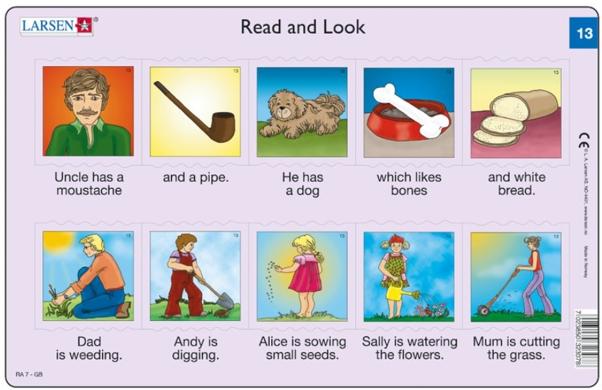 2-puzzles-cadres-apprendre-l-anglais-read-and-look-13-14-en-anglais-
