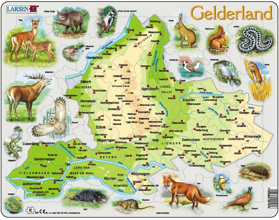 puzzle-cadre-carte-de-gelderland-et-ses-animaux-en-allemand-