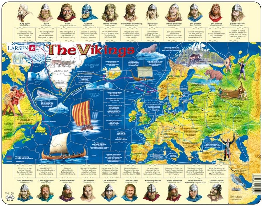 puzzle-cadre-les-vikings-en-anglais-