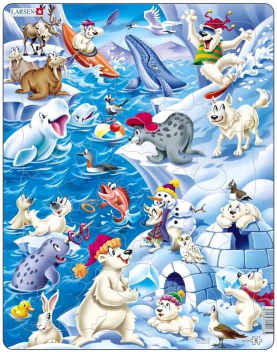 puzzle-cadre-animaux-de-la-banquise