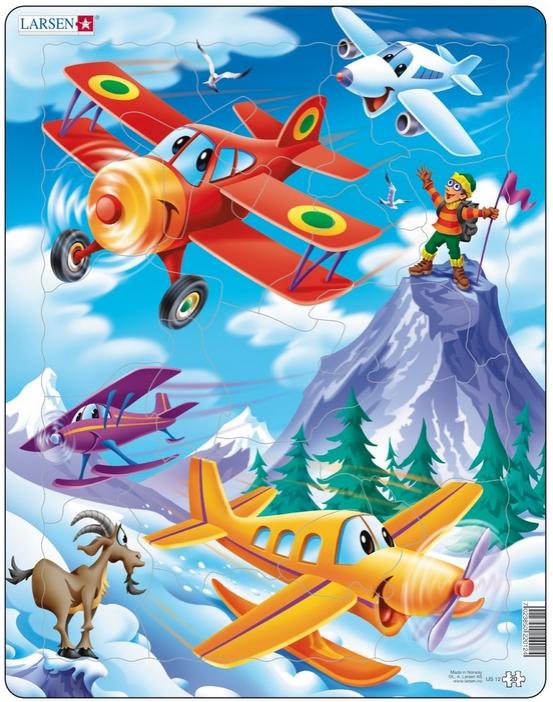 puzzle-cadre-avions-dans-la-montagne