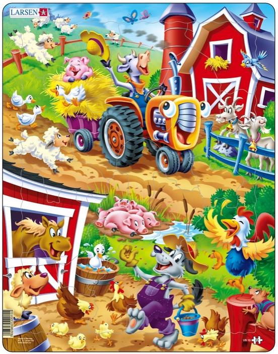 puzzle-cadre-animaux-de-la-ferme-enchantee