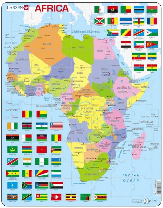 puzzle-cadre-carte-de-l-afrique-en-anglais-