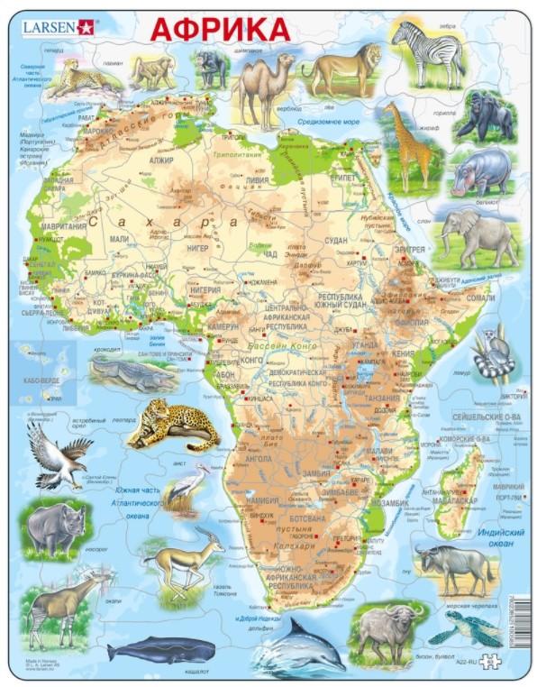 puzzle-cadre-afrique-en-russe-