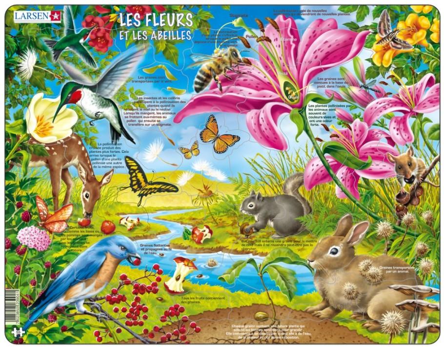 puzzle-cadre-les-fleurs-et-les-abeilles