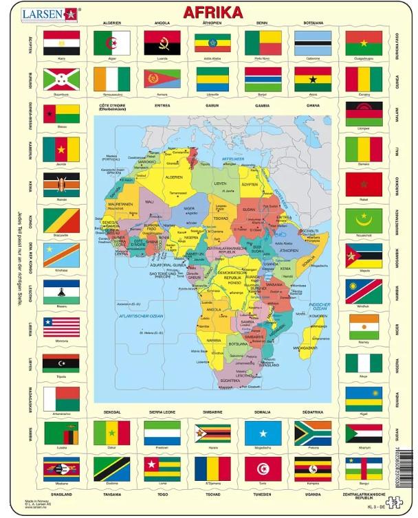 puzzle-cadre-carte-de-l-afrique-en-allemand-