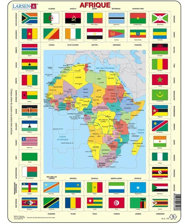 puzzle-cadre-carte-de-l-afrique