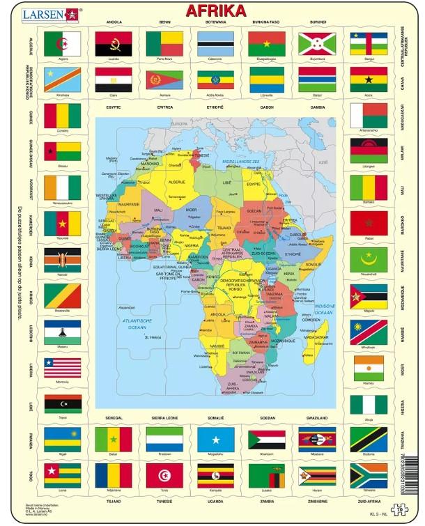 puzzle-cadre-carte-de-l-afrique-en-hollandais-
