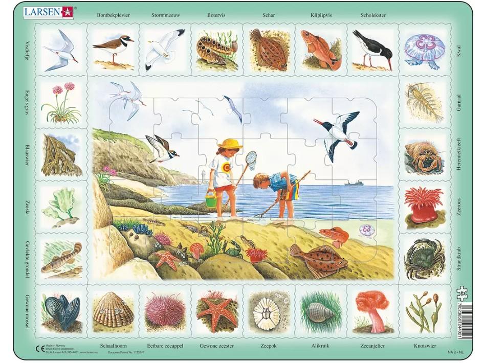 puzzle-cadre-bord-de-mer-en-hollandais-
